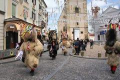 Ptuj kurents carnival mask Royalty Free Stock Photography