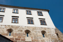 Ptuj medieval wall castle Stock Images