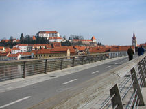 Ptuj, the oldest slovenian city Stock Photo