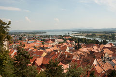 Ptuj - Panorama from the Castle Stock Photography