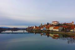 Ptuj, Slovénie photo libre de droits