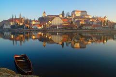 Ptuj, Slovenië stock foto's
