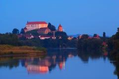 Ptujkasteel, Slovenië Royalty-vrije Stock Afbeeldingen