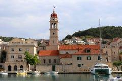PuÄ  iÅ ¡ Ä ‡ a na wyspie Brac w Chorwacja obrazy stock