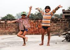 Puéril de l'Inde Photos libres de droits