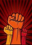 puño de la revolución