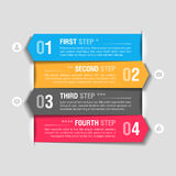 Mascherina di disegno di Infographics Fotografia Stock