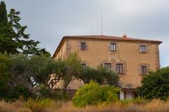 Può la casa degli agricoltori di Xammar de Baix Fotografie Stock