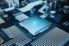 Può usare come priorità bassa Priorità bassa di tecnologia Concetto del CPU delle unità di elaborazione del computer centrale Chi illustrazione vettoriale