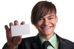 puści biznesowego mężczyzna przedstawienie Zdjęcia Stock
