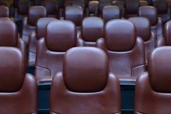 Puści kin krzesła Obrazy Royalty Free