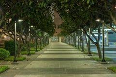 Puści korytarze. zdjęcia stock