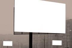 puści billboardów budynki Obraz Royalty Free