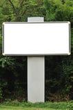 puści billboardów drzewa Obrazy Stock