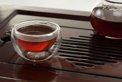 Pu'er tea Royalty Free Stock Images