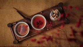 Pu`er tea in China stock photos