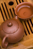 Pu Erh Tea Set Stock Photos