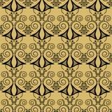 PU inconsútil geométrica del modelo de los elementos del extracto retro del fondo Imagen de archivo libre de regalías