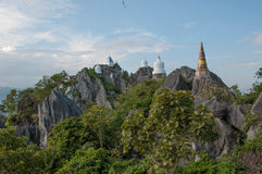 PU Pha Dange Wat Στοκ φωτογραφία με δικαίωμα ελεύθερης χρήσης