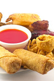 Pu Pu Platter Stock Photo