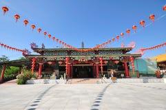 Pu Toh Tze寺庙在亚庇 库存照片
