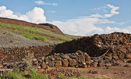 Pu'ukohola Heiau Royalty Free Stock Photos
