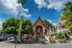 Puak Pia Temple or Wat Puak Pia in the Chiangmai Royalty Free Stock Photo