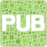 Pub ! illustration libre de droits
