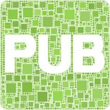 Pub! Foto de Stock Royalty Free