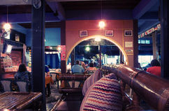 Pub. Bar and grill, Koh Tao, Thailand Stock Photo