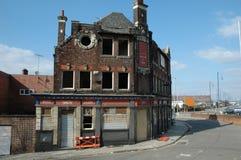 Pub abandonado Imagenes de archivo