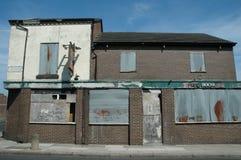 Pub abbandonato Fotografie Stock