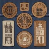 Pub avec la musique en direct Images stock