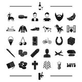 Pub, clothing, alcohol and other web icon in black style. animal, transport, appearance icons in set collection. Stock Photo