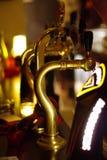 Pub copper taps Stock Images