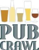 Pub Crawl Royalty Free Stock Photo