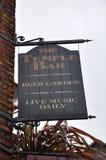 Pub de la barra del templo en Dublín Fotos de archivo