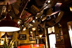 Pub de la vendimia Imagenes de archivo