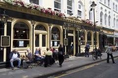 Pub de Londres Fotografia de Stock
