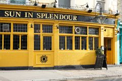 Pub de Londres Fotografía de archivo
