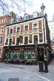 Pub de Sherlock Holmes en Londres, Inglaterra, Reino Unido Imagen de archivo libre de regalías