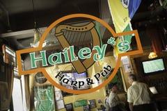 Pub del New Jersey - Hailey, Metuchen Fotografia Stock Libera da Diritti