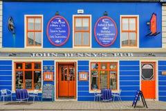 Pub del ` s de John Benny - primer Foto de archivo libre de regalías