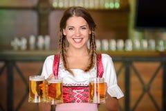 Pub della birra fotografie stock