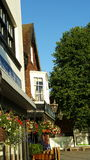 Pub della locanda del mercato di Salisbury Fotografia Stock