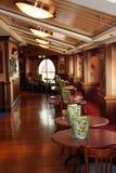 Pub della nave da crociera Immagine Stock