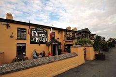Pub di Durty Nelly anziana in Bunratty, Irlanda Immagine Stock Libera da Diritti
