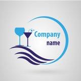 Pub di logo Fotografia Stock Libera da Diritti