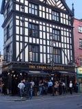 Pub di Londra in Soho Fotografia Stock Libera da Diritti