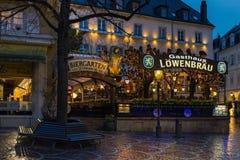 Pub di Lowenbrau in Baden-Baden immagini stock libere da diritti